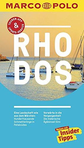 Preisvergleich Produktbild MARCO POLO Reiseführer Rhodos: Reisen mit Insider-Tipps. Inklusive kostenloser Touren-App & Update-Service