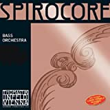 Thomastik Spirocore, Double Bass String, Single A String, S36S, 4/4 Size, Steel Core Chrome Wound