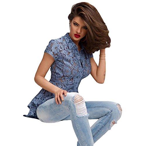 MEINICE -  Magliette a maniche corte  - Donna blu Blue Small