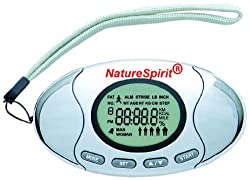 NatureSpirit 2 In 1 Pedometer with Body Fat Analyzer, 0.14 Pound