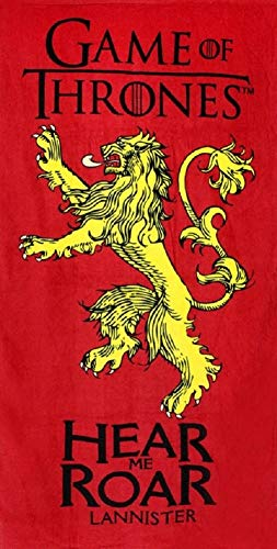 Voldemor Serviette Drap de Plage Game of Thrones Stark Le Trone de Fer