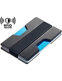 Cartera Minimalista Delgada Aluminio BLOQUEO RFID