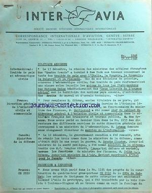 INTER AVIA [No 1246] du 17/12/1946 -