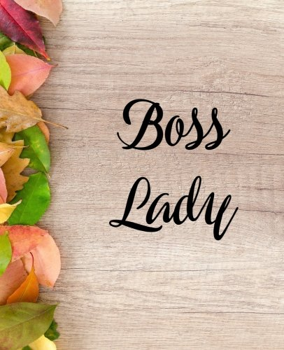 Boss Lady: 120 Pages Note taking Notebook por SayPress