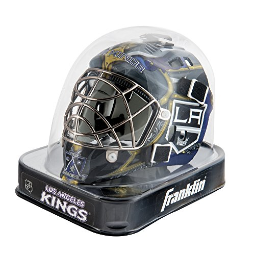 Franklin Sports NHL Los Angeles Kings Mini Goalie Mask