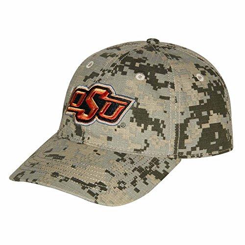Ouray Sportswear NCAA Oklahoma State Cowboys Unisex Digital-Camouflage-Mütze verstellbar (Camouflage Cowboy Mütze)