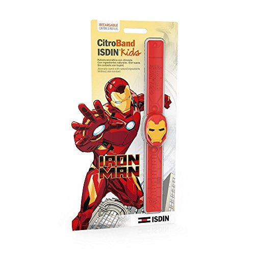 ISDIN CitroBand Kids Pulsera Antimosquitos de Iron Man