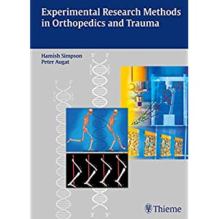 Experimental Research Methods in Orthopedics and Trauma