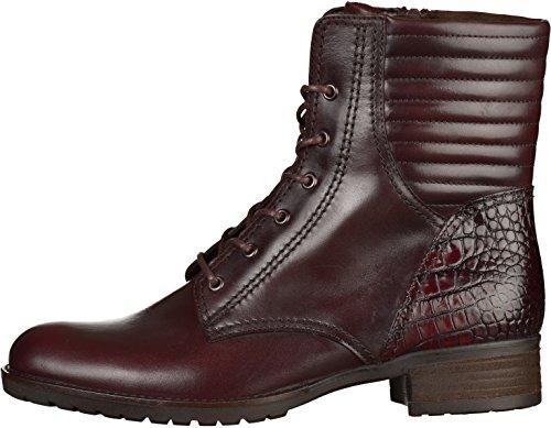 Gabor Gabor Fashion, Stivali classici imbottiti a gamba corta donna Red - Bordeaux Red