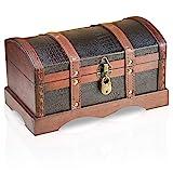 Brynnberg Scrigno del tesoro vintage 30x17x16cm - con lucchetto