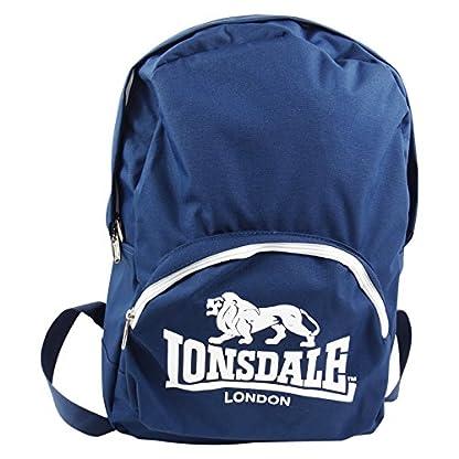 Lonsdale London Bolso Freetime + Estuche Escolar para Chico/a Tiempo Libre Escuela
