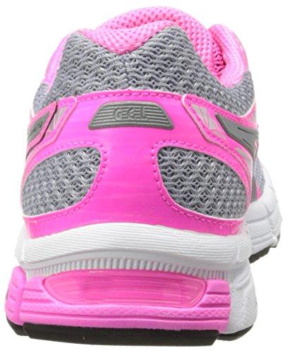 Asics Gel-Exalt 2 Liteshow Synthétique Chaussure de Course Lightning-Silver-Hot Pink