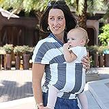 Baby Tragerucksack Schemel Multifunktionale Mode Streifen Multicolor , Dark Gray Thick Stripes