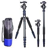 koolehaoda Professional 62 Inch Camera Aluminum Tripod Monopod & Ball Head Portable Travel