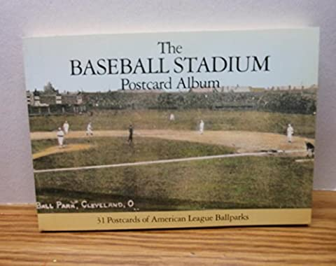 The Baseball Stadium Postcard Album: 31 Postcards of National League Ballparks by Gershman, Michael (1990) Paperback