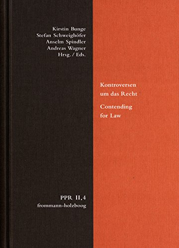 Kontroversen um das Recht. Contending for Law: Beiträge zur Rechtsbegründung von Vitoria bis Suárez. Arguments about the Foundation of Law from Vitoria to Suárez (English Edition)