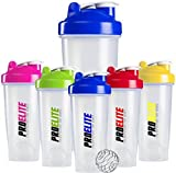 ProElite Gym Smart Blender Bottle Shaker Cup Shake Mixer 600ml - 700ml