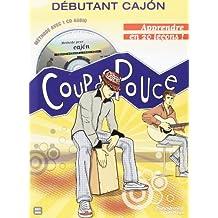 Roux Denis/Menasse Charly Debutant Cajon Percussion Book/Cd French-