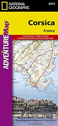Corsica: Travel Maps International Adventure Map por National Geographic Maps