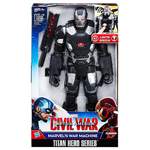 Hasbro Avengers B6179100 - Elektronischer Titan Hero War Machine, Actionfigur (Superhelden In The Avengers)