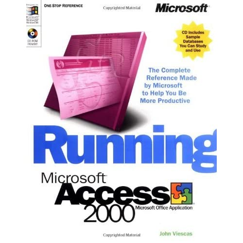 Running Microsoft� Access 2000 by John Viescas (11-May-1999) Paperback