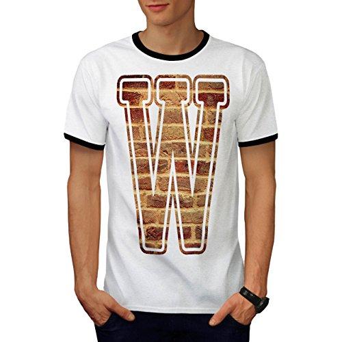 Star Grunge Kostüm Rock (Brief W Mauer Kunst Mode Grunge Modus Herren M Ringer T-shirt |)