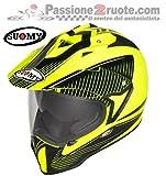 Suomy KSME0004.6 Casco Moto, Giallo/Nero, XL