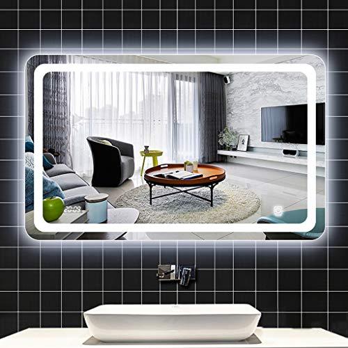 Espejo de baño con Luces LED, montado en la Pared, luz de...