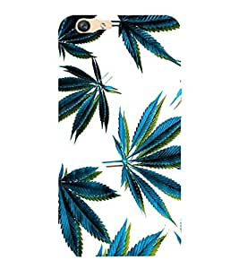 A2ZXSERIES Weed Leaf Design Back Case Cover for Oppo F1S / oppo f1 s