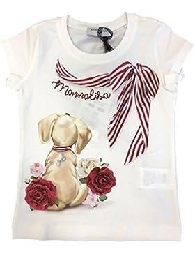 MONNALISA Bambina 191601S1 Panna T-Shirt Primavera/Estate