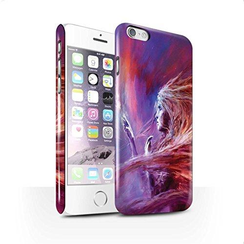 Offiziell Chris Cold Hülle / Glanz Snap-On Case für Apple iPhone 6S / Pack 12pcs Muster / Fremden Welt Kosmos Kollektion Raum Mädchen