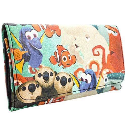 Disney Finding Dory Nemo & Marlin Blau Portemonnaie Geldbörse