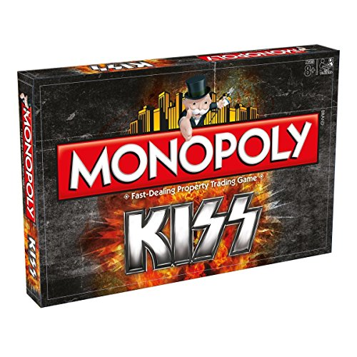 Monopoly Kiss - Property Trading Board Game