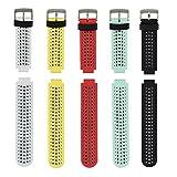 Garmin Forerunner 235, Armband, Uhrenband, weiches Silikon, Ersatzband, für Garmin Forerunner 235/220/230/620/630/735, Smart Watch, von Fit-power