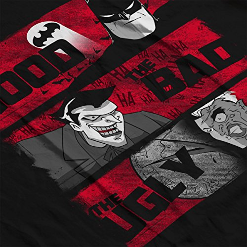 Gotham The Good The Bad And The Ugly Men's Vest Black