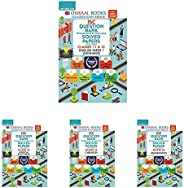 Oswaal ISC Question Bank Class 12 English 1,Physics,Chemistry,Maths (Set of 4 Books)