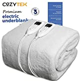 Super King Electric Blanket Dual Control SuperKing Bed Full Size 203 x 182cm