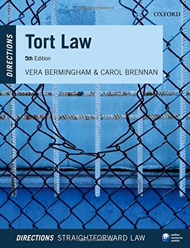 Tort Law Directions 5/e (Directions series)