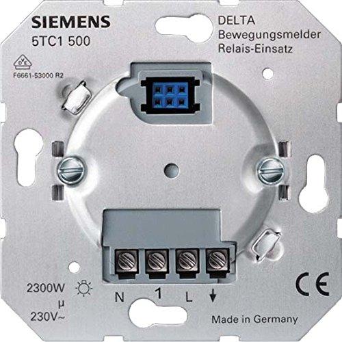 Preisvergleich Produktbild Siemens Indus.Sector Bewegungsmeldereinsatz 5TC1500 230V,max.2300W DELTA i-system Bewegungsmelder Basiselement 4001869271163