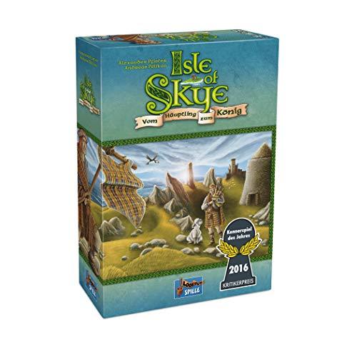Lookout Games 22160078 - Isle of Skye, Kennerspiel des Jahres 2016 (Der Gold Münzen Welt)