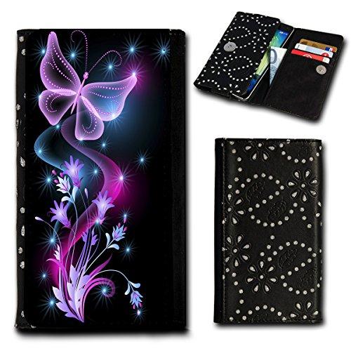 Book Style Flip Handy Tasche Case Schutz Hülle Foto Schale Motiv Etui für ZTE Blade A452 - Flip SU2 Design6