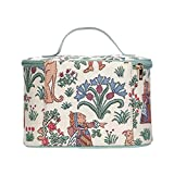 Signare Tapestry Women Toiletry Make-Up Bag Alice in Wonderland (TOIL-ALICE)