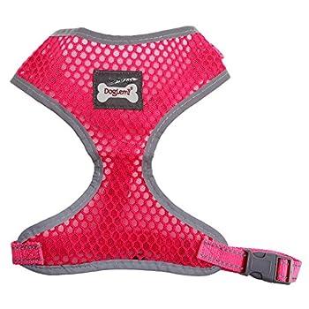 Mesh tissu poitrine Harnais pour chien chiot harnais harnais en sécurité