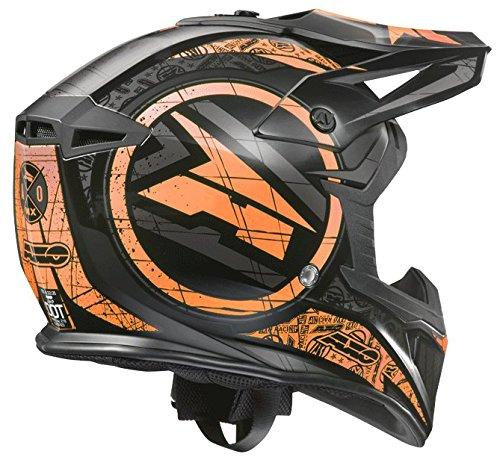 AXO Jump Helme, Schwarz/Orange, M