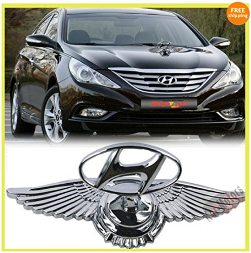 car auto hood bonnet ornament chrome eagle emblem for hyundai creta verna elantra eon Car Auto Hood Bonnet Ornament Chrome Eagle Emblem For Hyundai Creta Verna Elantra Eon 51SeHtwV 4L