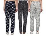Shaun Women's Cotton Track Pants - Pack of 3
