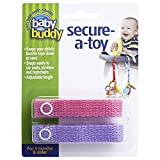Best Baby Buddy Gifts For Baby Boys - Baby Buddy Secure-A-Toy Pink/Lilac Review