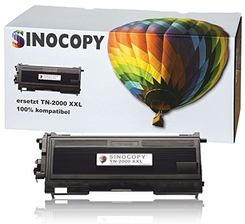 SinoCopy XXL Toner für Brother TN-2000 TN2000 für Brother HL-2030, HL-2040, HL-2050,...
