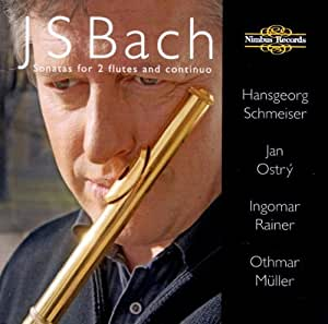 J. S. Bach, Sonatas for 2 flutes and continuo