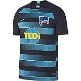 Nike Herren Hertha BSC Breathe Stadium Away T-Shirt, Dark Obsidian/Chlorine Blue, M